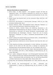 Prof. Dr. Jost Dülffer Betreute Dissertationen (abgeschlossen) 1 ...