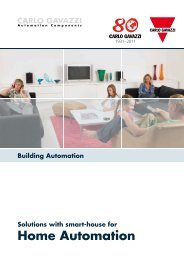Home Automation Our product range - Carlo Gavazzi