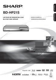 BD-HP21 - Sharp