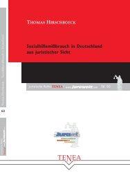 Sozialhilfemißbrauch in Deutschland aus juristischer Sicht - Jurawelt