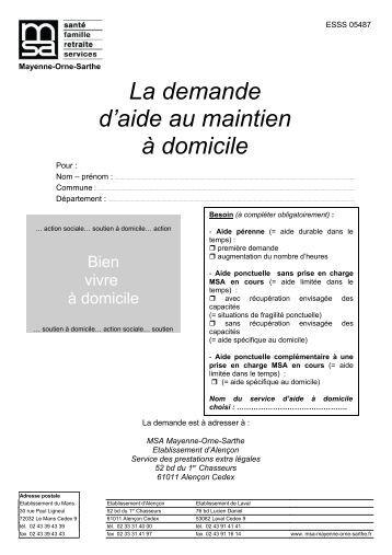 Le formulaire de demande pour la garde d 39 enfants ch que for Aide au bricolage a domicile