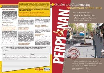 Boulevard Clemenceau : Innovation et bon sens