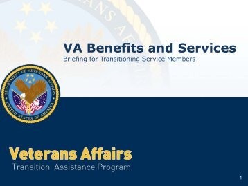VA Benefits and Services - US Navy Hosting