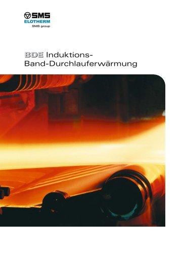 BDE BDE Induktions- Band-Durchlauferwärmung - SMS Elotherm ...