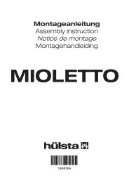 Montageanleitung Assembly instruction Notice de montage - H