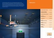 Broschüre / OBO / Katalog BSS MLAR Systeme