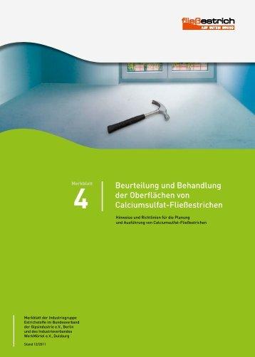 4Merkblatt - Knauf Gips KG