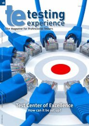 Transformation To A Test Center Of Excellence - Testing Experience
