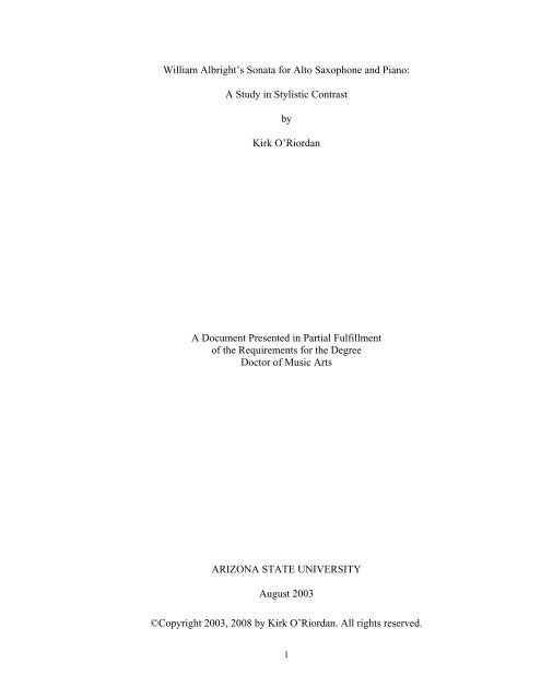 Albright sonata dissertation cover letter format for teacher job