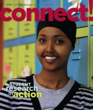 connect! - College of Education & Human Development - University ...