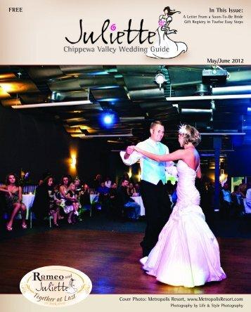 JULIETTE Chippewa Valley Travel - Juliette Wedding Guide