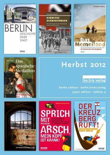 sachbuch be.bra verlag - Prolit Verlagsauslieferung GmbH
