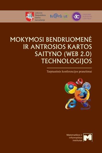 innovation - Informatikos metodologijos skyrius - Matematikos ir ...