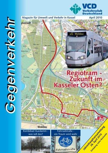 Regiotram - Zukunft im Kasseler Osten? - VCD