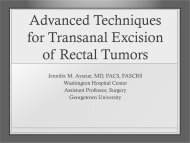 Advanced Techniques for Transanal Excision of Rectal Tumors