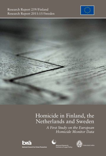 Homicide in Finland, the Netherlands and Sweden