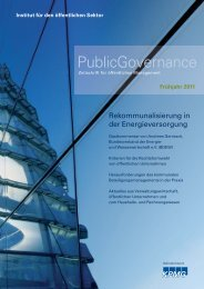 01802 11991 3060 - Institut für den öffentlichen Sektor eV