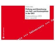 und Kostenplänen in der GKV Festzuschüsse 2012 - ip inside partner