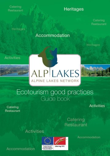 Ecotourism good practices - The four main objectives of the Alpine ...