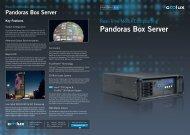Pandoras Box Server Systems - Coolux