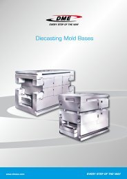 Diecasting Mold Bases - DME