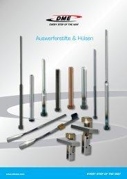 Auswerferstifte & Hülsen - DME