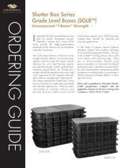 Shutter Box Series Grade Level Boxes - Channell Commercial ...