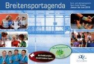 Immer günstig! farbig bedruckt, 90g/m - Sport Union Schweiz