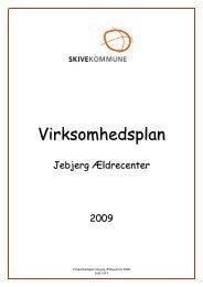 Virksomhedsplan - Skive.dk