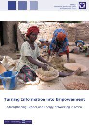 Turning Information into Empowerment: Strengthening ... - Energia