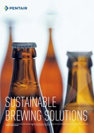 Sustainable Brewing Solutions - Haffmans
