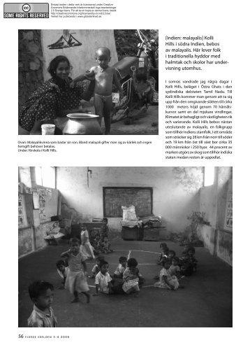 [Indien: malayalis] kolli Hills i södra Indien, bebos av ... - Globalarkivet