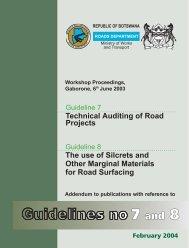 7 and 8 - Government of Botswana
