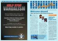 Newsletter - Botswana Railways...