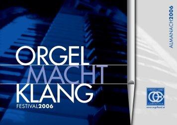Almanach 2006 - Orgelland Carinthia