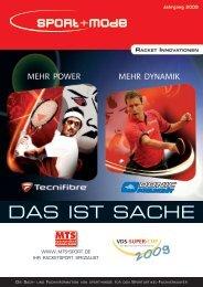 Racket Innovationen - sport+mode