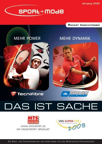 Racket Innovationen - sport+mode