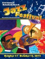 Jazz Festival Program - VillageSoup