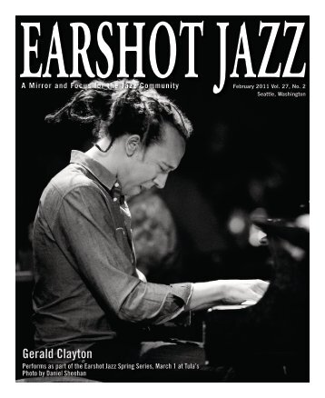 February 2011 issue - Earshot Jazz