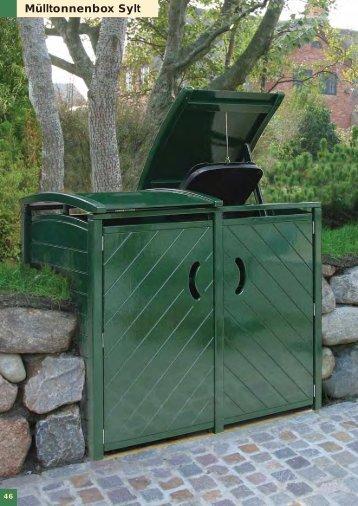 Mülltonnenboxen - schön + praktisch
