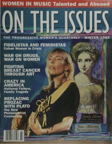WOMEN IN MUSIC Talented and Abused - On The Issues Magazine