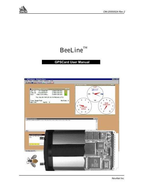 BeeLine - NovAtel Inc