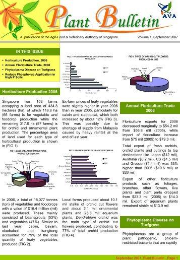 Plant Bulletin - Agri-Food & Veterinary Authority of Singapore