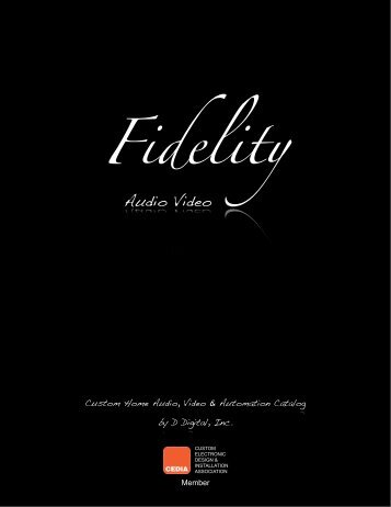 Home_files/Fidelity AV Catalog 2012.pdf - D Digital, Inc.
