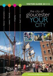 Visitor Guide 2011/12 - Gloucester