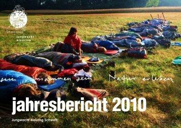 jahresbericht 2010 - Jubla Schweiz