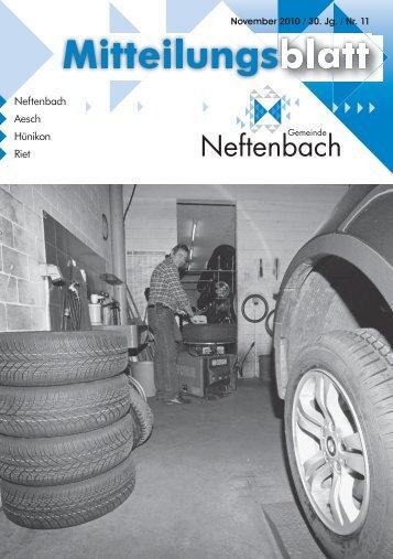 15. November 2010 - Gemeinde Neftenbach