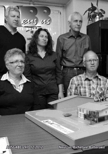 2012.12 - Gemeinde Bichelsee-Balterswil