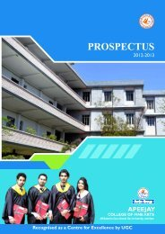 prospectus 12-13 for web.cdr - Apeejay College of Fine Arts ...