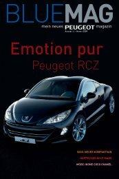 Emotion pur - Peugeot